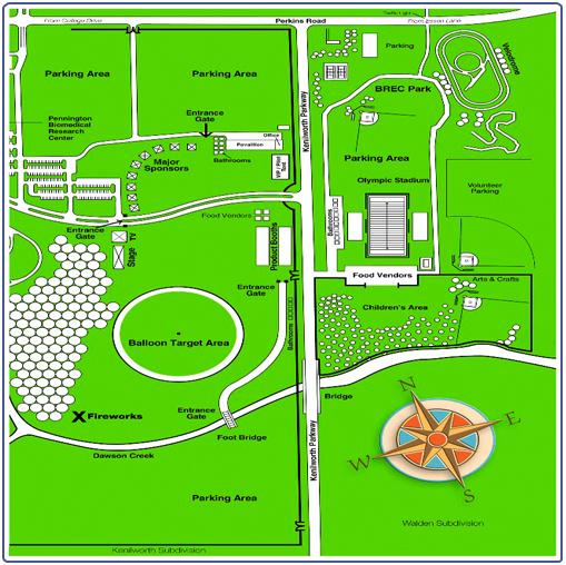 2006 Baton Rouge - Pennington Research Balloon Festival